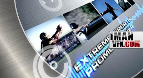 پروژه آماده افترافکت Silver Sport HD