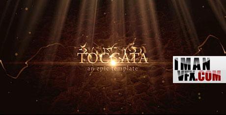 پروژه آماده افترافکت ,  Toccata - Project for After Effects
