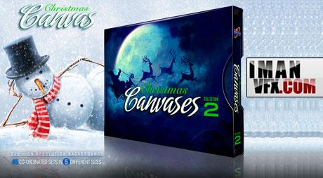 محصولات دیجیتال جویس , Christmas Canvases 2