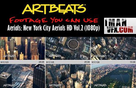 کلیپ های کوتاه شگفت انگیز شهر نیویورک از آسمان Artbeats