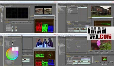 آموزش تصحیح رنگ با Premiere