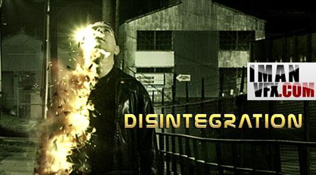 آموزش جلوه های ویژه با افترافکت , Disintegration