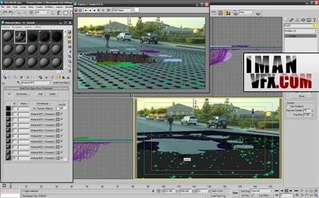آموزش جلوه های ویژه با افترافکت گودال سه بعدی ۳d Crater – بخش دو