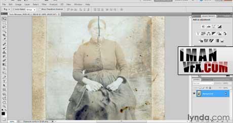 آموزش ترمیم تصویر با فتوشاپ