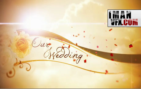 میکس و مونتاژ فیلم عروسی با افترافکت