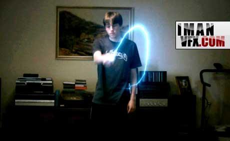 خلق خطوط درخشان نور با افترافکت Light Streaks