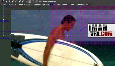 آموزش Mocha v3 Camera Solving  برای Moving Objects