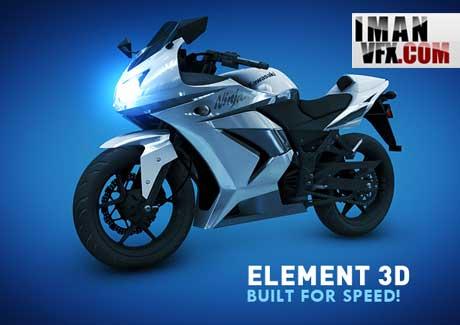 پلاگین Element 3d برای حداکثر سرعت پردازنده گرافیکی GPU