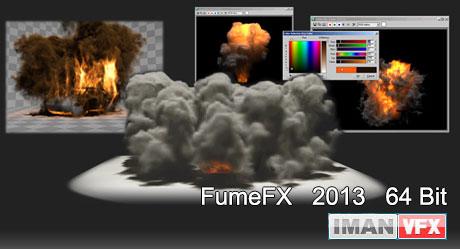 دانلود FumeFX 64 bit برای تری دی مکس 2013