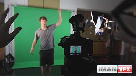 آموزش کار با پرده سبز در افترافکت,Green Screen