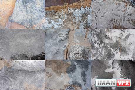 دانلود تکسچرهای با کیفیت صخره های مرطوب