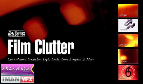 Film Clutter Artbeats , Light Leak