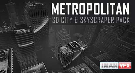 Metropolitan: 3D City & Skyscraper Pack