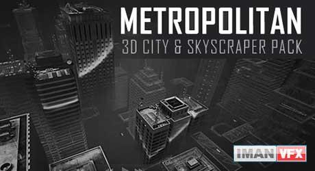 Metropolitan: 3D City & Skyscraper Pack