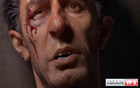 هنر 3D : تک فریم Tzanko یک بوکسور