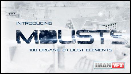 mDusts , کلیپ پارتیکل و ذرات آماده mDusts از MotionVFX