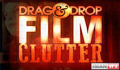 Digital Juice Drag and Drop Series - Film Clutter