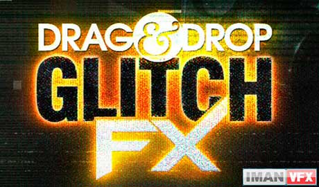 Digital Juice Drag and Drop Series - GlitchFX