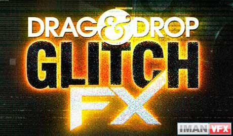 Digital Juice Drag and Drop Series - GlitchFX