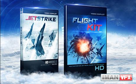 JetStrike and FilghtKit videocopilot