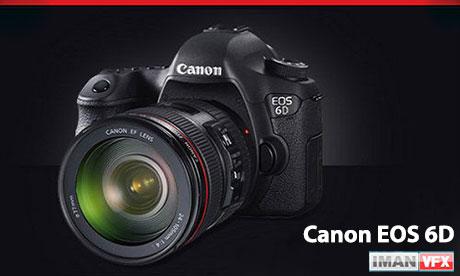 Canon EOS 6D,معرفی دوربین Dslr کنون 6D