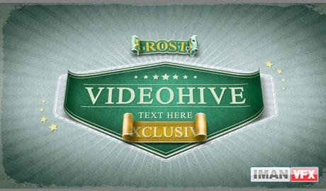 پروژه آماده افترافکت , پروژه افترافکت از Videohive