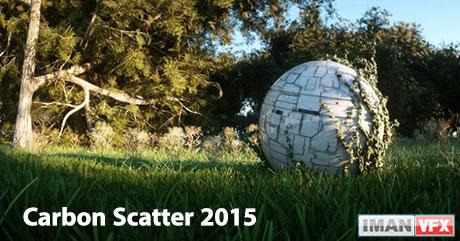 پلاگین Carbon Scatter 2015 برای Cinema 4D,مایا,3Ds Max