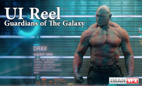 موشن گرافیک های Guardians of the Galaxy