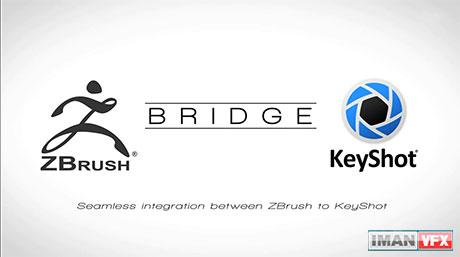 انتقال مدل از Zbrush به Keyshot