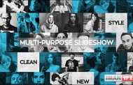 دانلود پروژه آماده افترافکت,Multi-Purpose Slideshow