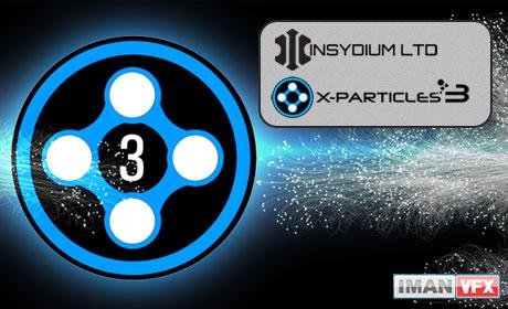 X-Particles 3,ویژگی های جدید X-Particles 3 برای Cinema 4D