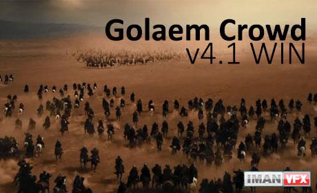 دانلود رایگان Golaem Crowd v4.1 WIN