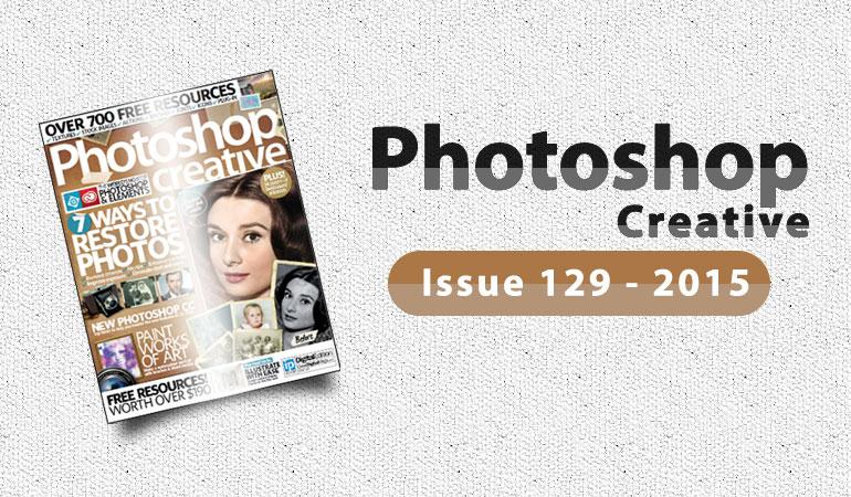 دانلود مجله گرافیکی Photoshop Creative Issue 129-2015