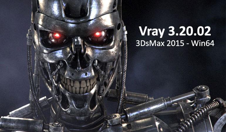 دانلود Vray 3.20.02 برای 3dsMax 2015 - Win64