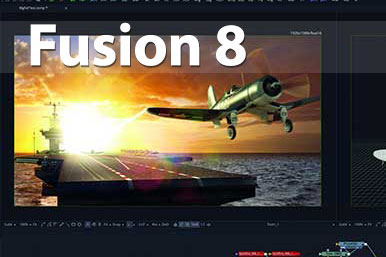عرضه Fusion 8 توسط Blackmagic Design