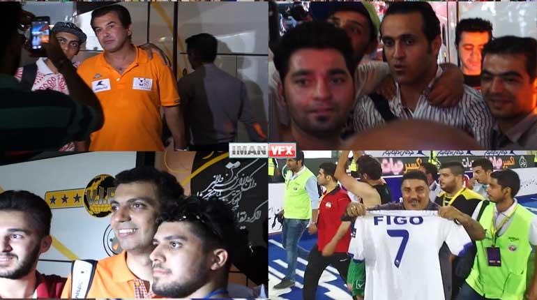 هلی شات,فیلمبرداری هوائی فوتبال منتخب ایران و ستارگان جهان استادیوم آزادی