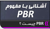 مفهوم PBR,physically based rendering
