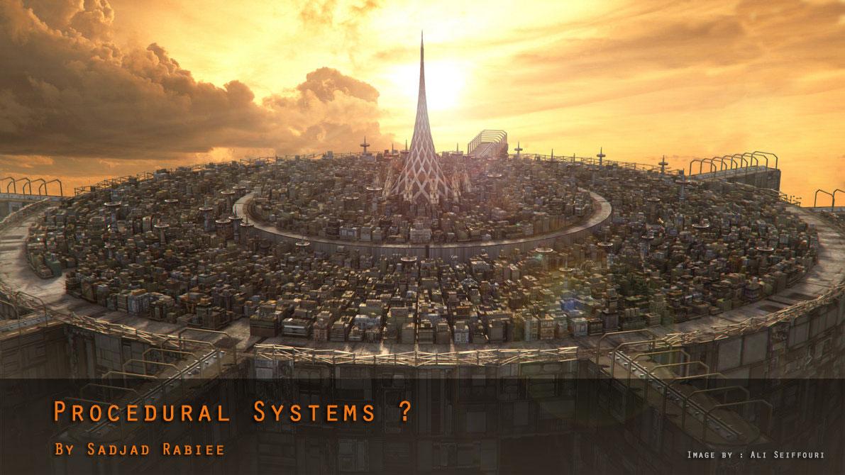 آشنایی با سیستم های Procedural