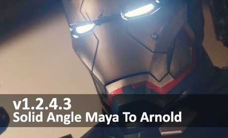 دانلود Solid Angle Maya To Arnold v1.2.4.3 برای Maya 2016