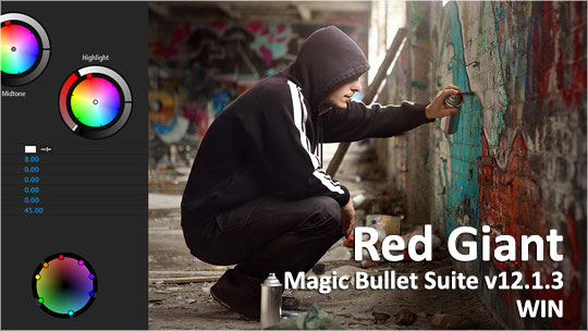 Red Giant Magic Bullet Suite v12.1.3 WIN