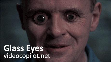 دانلود پلاگین افترافکت Glass Eyes از ویدئوکوپایلت Videocopilot.net