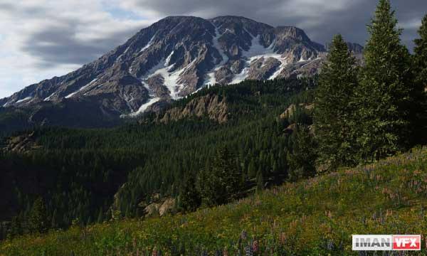 ساخت مناظر طبیعی با Terragen Professional 4.0.01