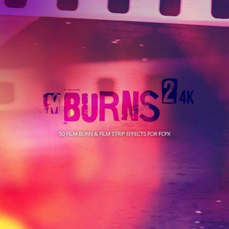 کلیپ نگاتیو و خراش mBurns2 از MotionVFX