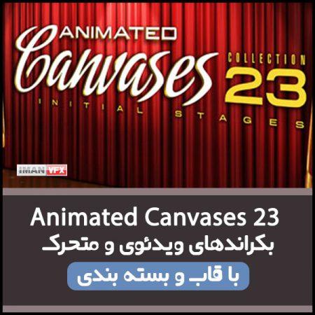 بکراند ویدئویی Animated Canvases 23