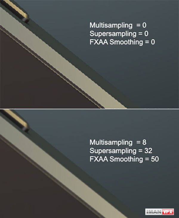 Supersampling for element3d plugin