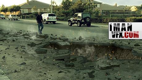 آموزش جلوه های ویژه با افترافکت گودال سه بعدی 3d Crater - بخش یک
