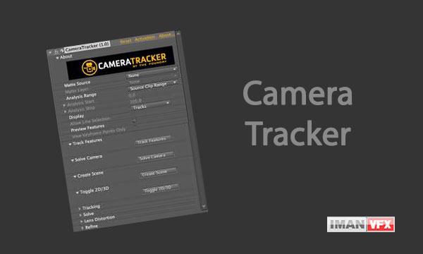 پلاگین Camera Tracker