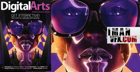 دانلود مجله گرافیکی Digital Arts - November 2011