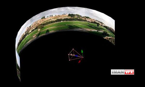 اسکریپت تولید تصاویر 360 درجه پانوراما در افترافکت