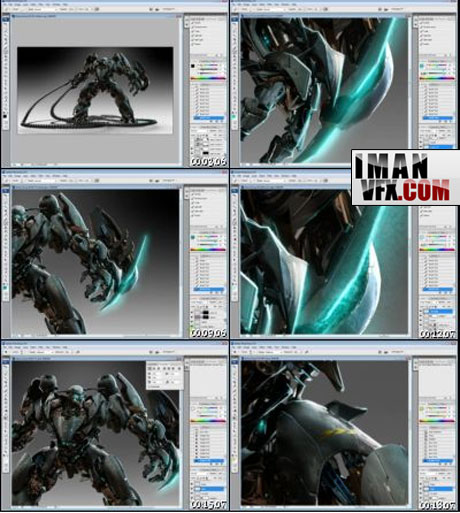 آموزش مدلسازی ربات با تری دی مکس